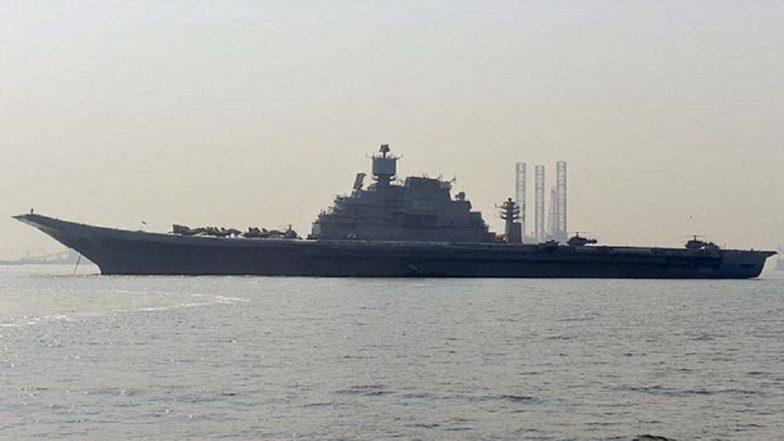 Fire Erupts Onboard INS Vikramaditya In Karnataka, Lieutenant Commander Killed