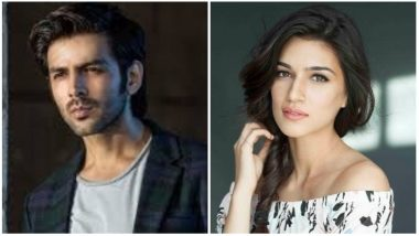 Kriti Sanon and Kartik Aaryan Start Shooting for Luka Chuppi - See Pic