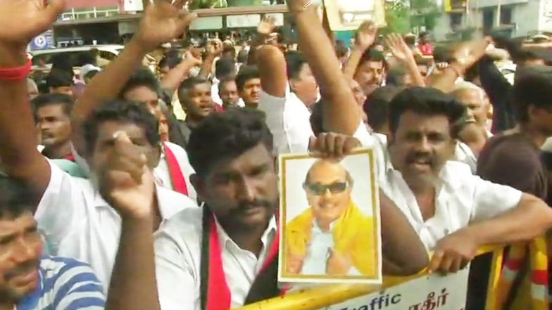 Karunanidhi Health Update: DMK Chief 'Critical' at Kauvery Hospital in Chennai