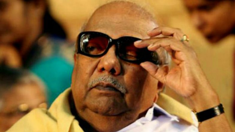 M Karunanidhi Health Update: DMK Chief's Medical Condition Declines, Kauvery Hospital Doctors Facing Challenge Maintaining His Vital Organ Functions