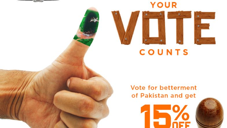 Pakistan Elections 2018: Brands Lure Consumers With Attractive Discounts & Freebies Urging Them to Go Out & Vote