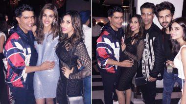 Kriti Sanon Celebrates Her Birthday With Kartik Aaryan, Karan Johar and Manish Malhotra – See Pics