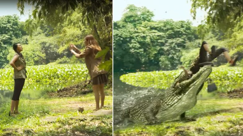 Viral Video of Alligator Eating Girl is Fake; Original Clip is Preview's Ad From 2013