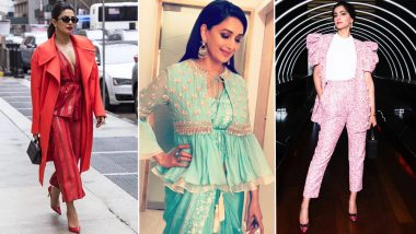 How to Wear the Jacket Right: Learn From Priyanka Chopra, Madhuri Dixit, Sonam Kapoor and Other Bollywood Divas