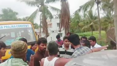 Mobocracy Continues: Man Thrashed By Mob On Suspicion Of Child Theft in Karnataka, Victim Had Gone To Meet Son Taken Away By Wife After Fight