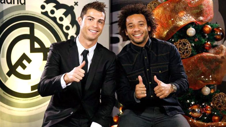 Marcelo Writes an Emotional Post for Cristiano Ronaldo After the Latter Moves To Juventus