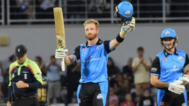 Martin Guptill Hits Joint-Fourth Fastest T20 Century, Scores 35-Ball Hundred in Vitality Blast 2018; Watch Video Highlights