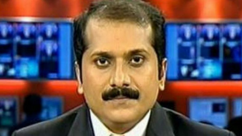 Mathrubhumi News Anchor Venu Balakrishnan Booked, Editors Guild of India Says Police Action Against Him is an Attack on the Freedom of Press