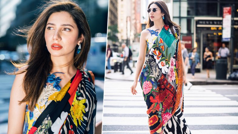 Pakistani Beauty Mahira Khan Looks Every Bit Colourful on the Streets of New York, See Pics