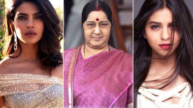 Sushma Swaraj, Priyanka Chopra, Suhana Khan Trolled Online: Why Are We So Scared of Women Making Choices And Having An Opinion?