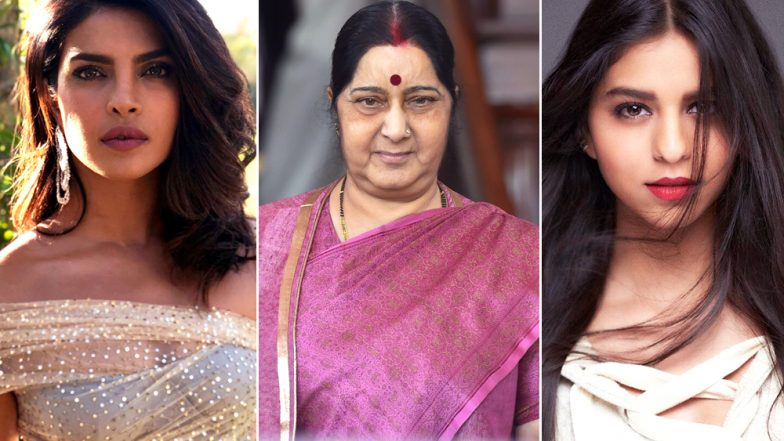 Sushma Swaraj, Priyanka Chopra, Suhana Khan Trolled Online: Why Are We So Scared of Women Making Choices And Having An Opinion?