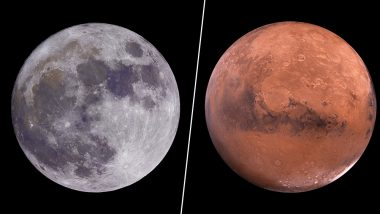 Moon and Mars Together! Double Celestial Event At The End of July 2018