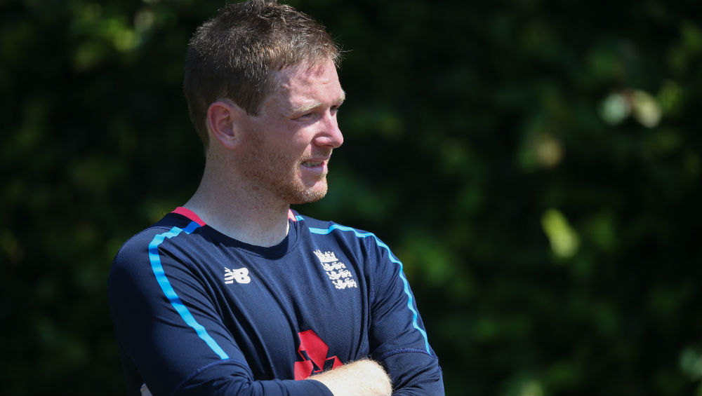 England Captain Eoin Morgan
