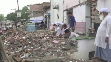 Muslims in Allahabad Demolish Parts of Mosques Built on Govt Land as Roads Are Being Widened For Kumbh Mela