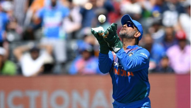 MS Dhoni Directed to Remove 'Balidaan Badge' from Wicket-Keeping Gloves During ICC Cricket World Cup 2019