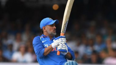 MS Dhoni Becomes 4th Indian Batsman to Score 10,000 ODI Runs, Only Second Wicketkeeper to Achieve the Feat