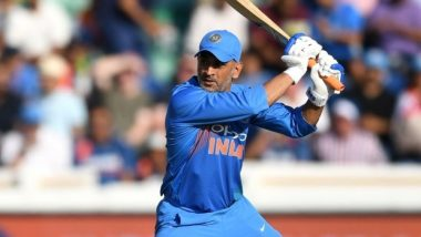 MS Dhoni Birthday Special: Some of the Records Held by the Former Indian Cricket Team Captain