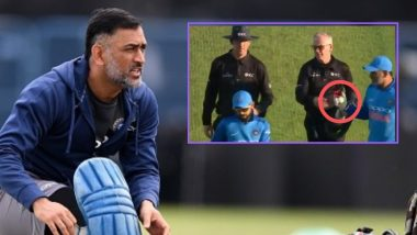 MS Dhoni Reveals he Took the Ball From the Umpire During 3rd ODI Against England