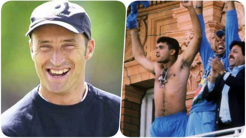 Naseer Hussain Takes a Jibe at Sourav Ganguly, Reminds Him of his Shirtless Antic at Lord's