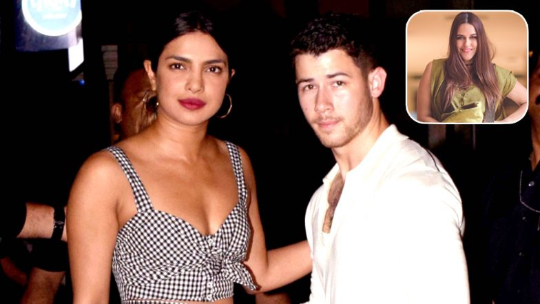Neha Dhupia Finds Nick Jonas' Old CD And She Cannot Help But Tease Priyanka Chopra! (View Pic)