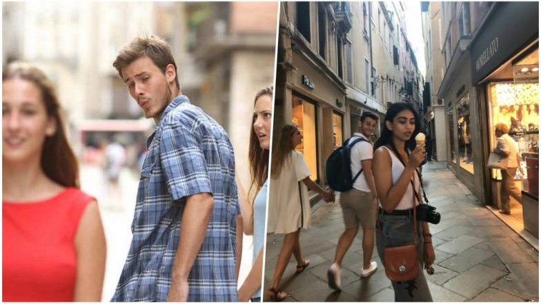 Distracted Boyfriend Meme Remade With a Delicious Ice-cream! Twitterati Calls it A Real-Life Version of the Infamous Meme