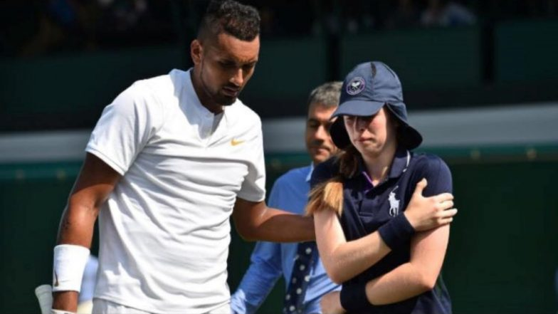 Wimbledon 2018 Video Diaries: Ball Girl Hit by 217-Kmph Serve, Nick Kyrgios Unveils His Softer Side