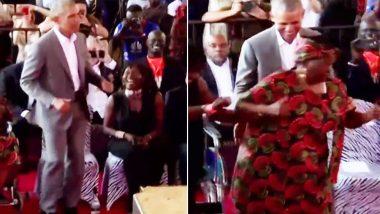 Barack Obama Shows Off His Dance Moves With Step-Grandmother in Kenya (Watch Video)