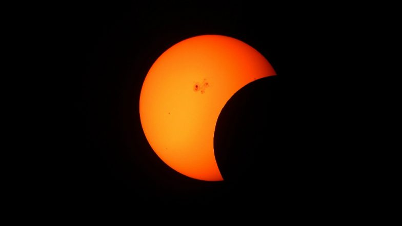 Surya Grahan Time And Mahurat of Sutak of Today's Partial Solar Eclipse; How & Where to Watch
