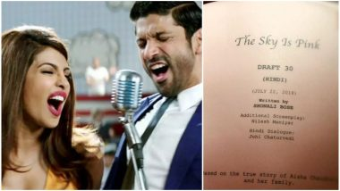 It's OFFICIAL! Priyanka Chopra and Farhan Akhtar to Begin Shooting for The Sky is Pink