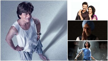 Shah Rukh Khan's Zero To Now Clash With Alita Battle Angel, Mauli and The Accidental Prime Minister on December 21; Should King Khan Be Worried?