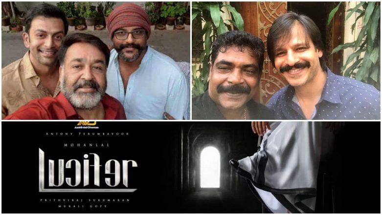 Lucifer: Vivek Oberoi Makes His Malayalam Debut in This Mohanlal Film Directed By Prithviraj Sukumaran