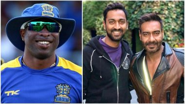 Is Ajay Devgn Indian Cricketer Krunal Pandya's 'Real Dad'? That's What Kieron Pollard Thought! - View Pic