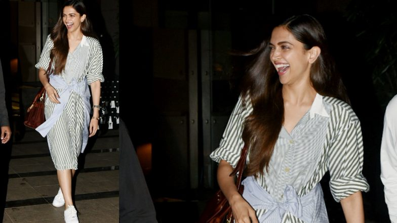 Deepika Padukone's Million Dollar Smile in These Pictures Will Brighten Up Your Weekend!