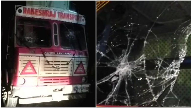 Truck Operators' Nationwide Strike Day 4: Unidentified Persons