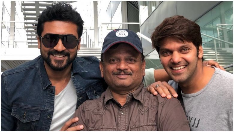Suriya 37: After Mohanlal, Allu Sirish, Sayyeshaa, Now Arya Joins The Singham Superstar in KV Anand's Film