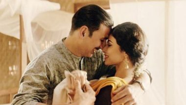 Gold Song Naino Ne Baandhi: Akshay Kumar and Mouni Roy's Sizzling Chemistry Will Make You Fall in Love All Over Again – Watch Video