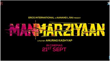 Abhishek Bachchan-Taapsee Pannu's Manmarziyan Finds a New Release Date; To Now Clash With Shahid Kapoor's Batti Gul Meter Chalu