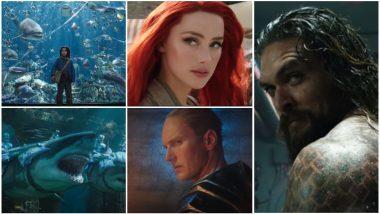 Aquaman Trailer: Jason Momoa's Badass Superhero Fights Underwater Creatures in This CGI-Filled Film