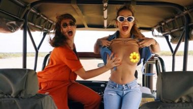 Rita Ora Flashes For Her Best Friend Because 'F*$k It' - View Her Topless Pics