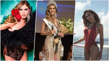 Miss Spain Angela Ponce Becomes First Transwoman to Compete in Miss Universe Contest: See Pictures of Gorgeous Beauty Queen