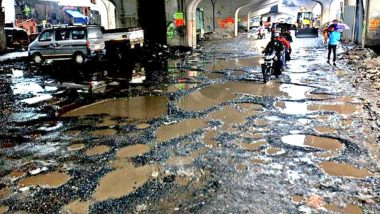 Mumbai to Be Named in Guinness Book of World Records for Most Number of Potholes? A Mumbaikar Decides to Send the Entry