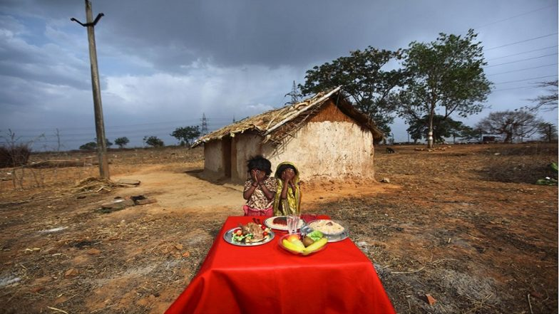Italian Photographer's Series on Hunger in India Has Malnourished Villagers Posing With Fake Food