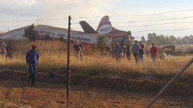 Vintage Plane Crashes in South Africa's Pretoria; 1 Dead, 20 Injured