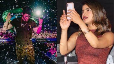 Priyanka Chopra Cheers for Nick Jonas at his Concert in Brazil's VillaMix Festival- View Pics