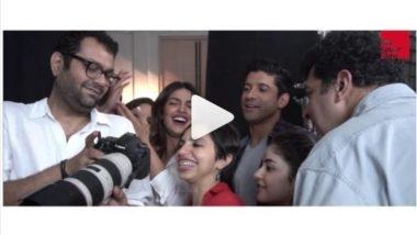 Amid Priyanka Chopra Nick Jonas Engagement News, Actress Preps Up for Farhan Akhtar-Zaira Wasim Starrer The Sky Is Pink (Video)
