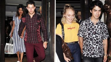 Nick Jonas Takes Priyanka Chopra Out on a Double Date With Brother Joe Jonas and His Girlfriend Sophie Turner