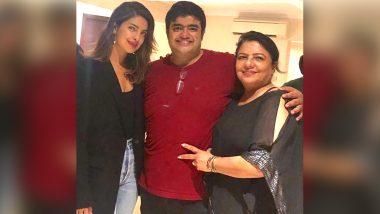 Priyanka Chopra Celebrates Brother Siddharth's Birthday With Some Champagne and Birthday Punches! – Watch Video
