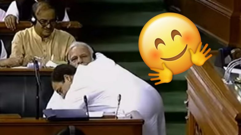 Rahul Gandhi Hugs PM Narendra Modi: Why You Should Hug It Out Like The Iconic Political Rivals