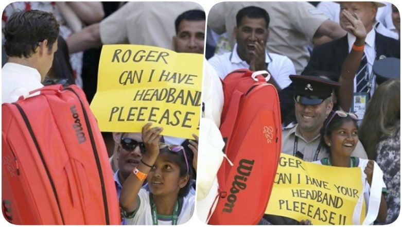 Wimbledon 2018 Video Diaries: Roger Federer Gifts His Head Band to an Indian Fan