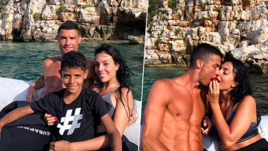Cristiano Ronaldo Vacations With Girlfriend Georgina Rodriguez in Greece Amidst Rumours of Joining Juventus; See Pics